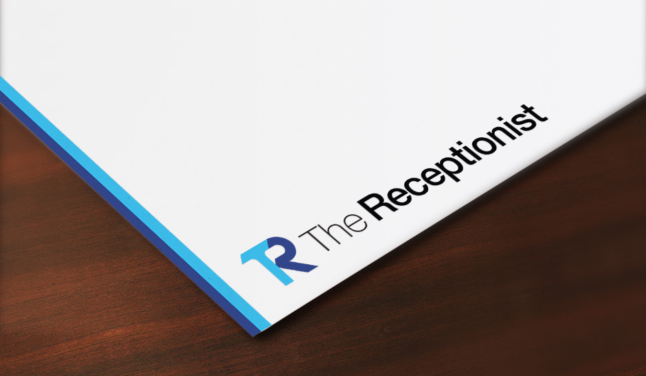 The Receptionist Branding, Logo Design, & Marketing Materials